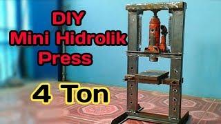 Download Diy Hidrolik Press Dari Dongkrak 4 ton Video