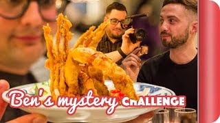 Download £45 Mystery Night Food Challenge - Pigs on Sticks & Improv?!? Video