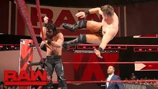 Download Seth Rollins vs. The Miz: Raw, Feb. 26, 2018 Video
