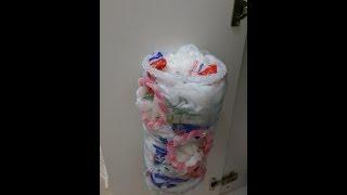 Download DIY Nylon bag basket , Her evin ihtiyacı Poşetlik, pet şişeden kendin yap Video