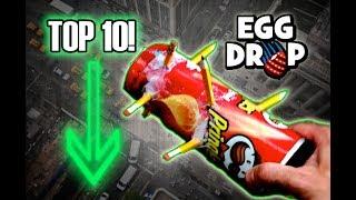 Download Top 10 1ST PLACE Egg Drop Designs! Science Experiment Challenge! Video