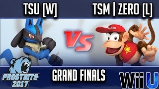 Download Frostbite 2017 GRAND FINALS - tsu [W] (Lucario) vs TSM | ZeRo [L] (Diddy Kong) Video