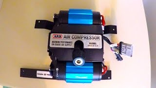 Download Onboard air ARB Twin Air Compressor CKMTA12 installed with Innovative JK Products in Jeep Wrangler Video