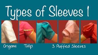 Download Types of Sleeves 1 ~Puff sleeve, Petal sleeve, Origami sleeve Video