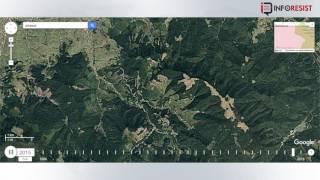 Download Масштабы вырубки поражают: Спутниковые снимки показали, как быстро пропадает лес Карпат Video