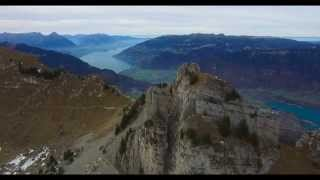 Download Amazing Switzerland: Schynige Platte - 4K UHD Aerial Footage Video