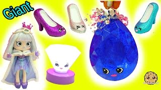 Download DIY Limited Edition Shopkins Inspired Gemstone, Light Up Diamond & Lipgloss Shoes - Painting Video Video