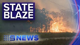 Download NSW Bushfires: Largest fire front in Australia's history | Nine News Australia Video