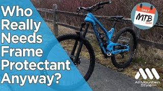 Download Why I Use MTB Frame Guard & You Really Should Too! All Mountain Style For The Win! Video