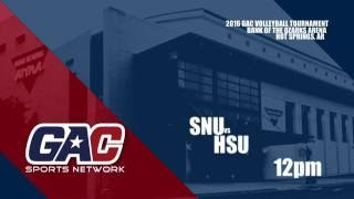 Download GAC Volleyball Championships : Game 1 : Southern Nazarene vs Henderson State Video