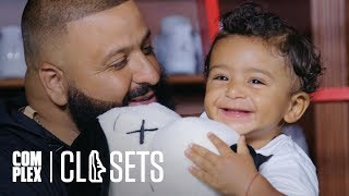 Download DJ Khaled and Asahd Khaled Show Off Their Sneaker Collections On Complex Closets Video