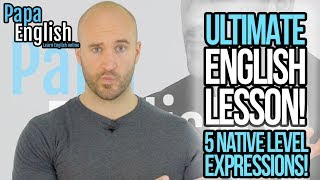 Download ULTIMATE ENGLISH LESSON! - Can you understand these 5 Native Level Expressions? Video