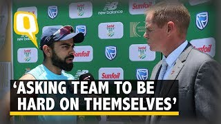 Download 'Not Here to Comfort My Team,' Says Virat Kohli After Series Loss vs South Africa | The Quint Video