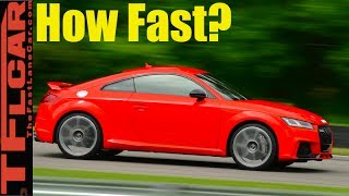 Download How Fast is the New 400 HP Audi TT RS from 0-60 MPH? Video