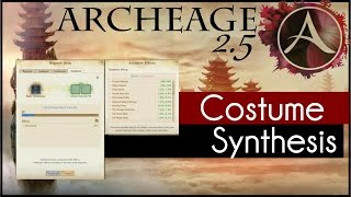 Download Archeage 2.5 - How to: Costume Synthesis Video
