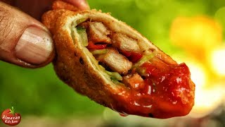 Download Best Spring Rolls! - EXTREME CRISP! - In the Forest from Scratch Video