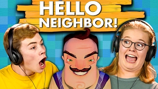 Download HELLO NEIGHBOR (Teens React: Gaming) Video
