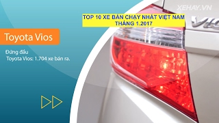 Download [XEHAY.VN] Top 10 xe ô tô bán chạy nhất VN tháng 1.2017 Video