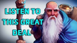 Download DECKARD CAIN HAS A GREAT DEAL FOR YOU | Heroes of the Storm Funny Moments Video