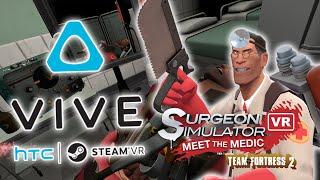 Download VENDALI NA OPERAČNÍM SÁLE! - HTC Vive Hry Surgeon Simulátor #2! Video