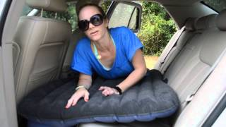 Download Arrela's easy to use & to install SpeedSmart Car Air Mattress Review Video