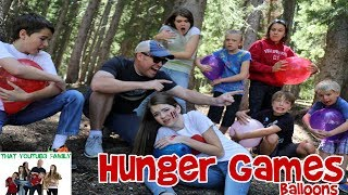 Download HUNGER GAMES BALLOON WAR / That YouTub3 Family Video