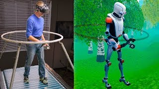 Download The Infinadeck Omnidirectional Treadmill - Smarter Every Day 192 (VR Series) Video