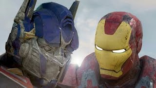 Download Iron Man vs Optimus Prime HD | HulkBuster Video