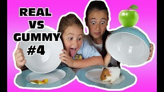 Download REAL FOOD VS. GUMMY FOOD ( cibo reale vs cibo gommoso ) Episodio #4 by Marghe Giulia Kawaii Video