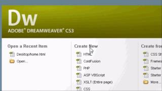 Download Adobe Dreamweaver Introduction Tutorial - How To Make a Website In HTML Video