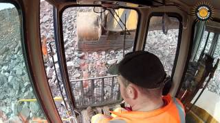 Download Broyt D1000T in cab view Video