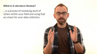Download 2.1 What Is A Literature Review In Research Thesis Video
