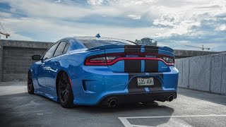 Download I bagged my Charger Hellcat with AirLift Performance air ride suspension Video