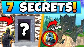 Download Fortnite: ONLY EXPERTS KNOW These 7 Season 6 SECRETS! - Skins Secret/More (Battle Royale Gameplay) Video