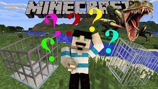 Download Minecraft : Jurassic Craft - Bölüm 36 - DİNOZOR KAFESİ NASIL YAPILIR? Video