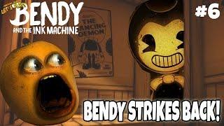 Download Bendy & the Ink Machine Ch. 3: BENDY STRIKES BACK! #6 [Annoying Orange Plays] Video