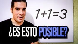 Download 1+1=3 ¿Paradoja matemática? | Problemas y contradicciones Video