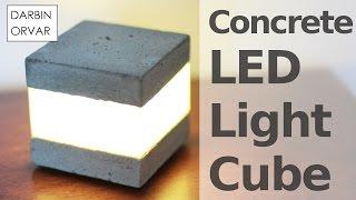 Download Concrete LED Light Cube Video