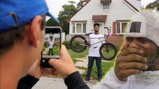 Download SURPRISING MY FRIEND WITH A BRAND NEW CUSTOM BMX BIKE! Video