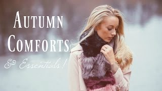 Download My Autumn Comforts, Essentials & Obsessions! | Fashion Mumblr Video