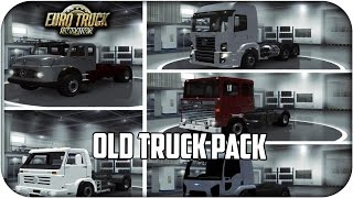 Download Pack of old trucks Br 13 camiones | euro truck simulator 2 | 1.23 - 1.24 Video