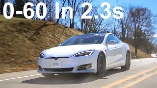 Download Tesla Model S P100D Review | 0-60mph in 2.28 seconds Video