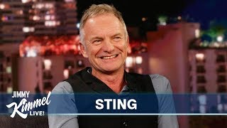 Download Sting on Listening to His Music, Las Vegas Residency & The Last Ship Video