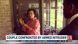 Download Couple confronted by armed intruder Video