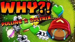 Download Bloons TD Battles - WHY So Aggressive? Pulling A Boltrix? Video
