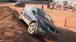 Download Off-Roading at #HexaExperience Centre, Bengaluru Video
