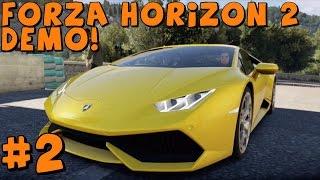 Download Forza Horizon 2 Demo | Lamborghini Huracan vs Jet Squad! and Dynamic Weather Video