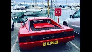Download Ferrari Testarossa 2000 mile road trip to the French Riviera Video