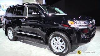 Download 2017 Toyota Land Cruiser - Exterior and Interior Walkaround - 2016 LA Auto Show Video
