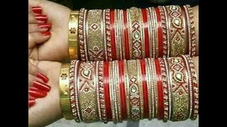 Download 50+ LATEST CHURA DESIGNS FOR BRIDAL IN EVERY COLOR AND STUFF Video